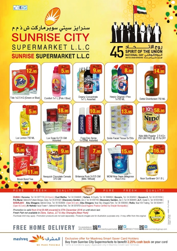 Sunrise City Supermarket Sunrise City Offer