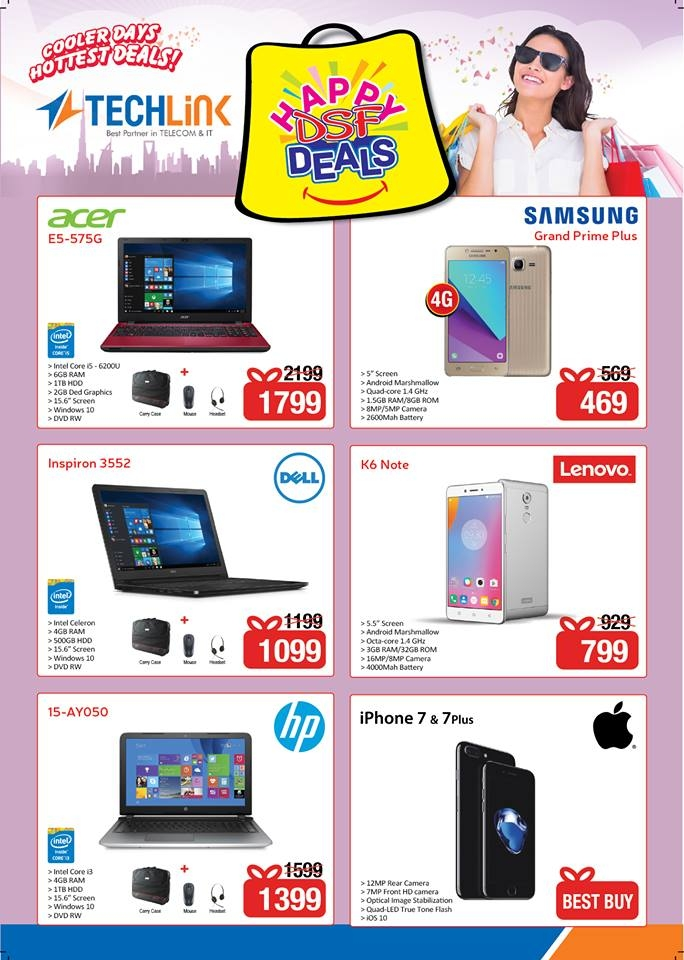 Techlink Happy DSF Deals