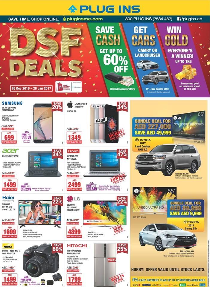 Plug Ins DSF Deals
