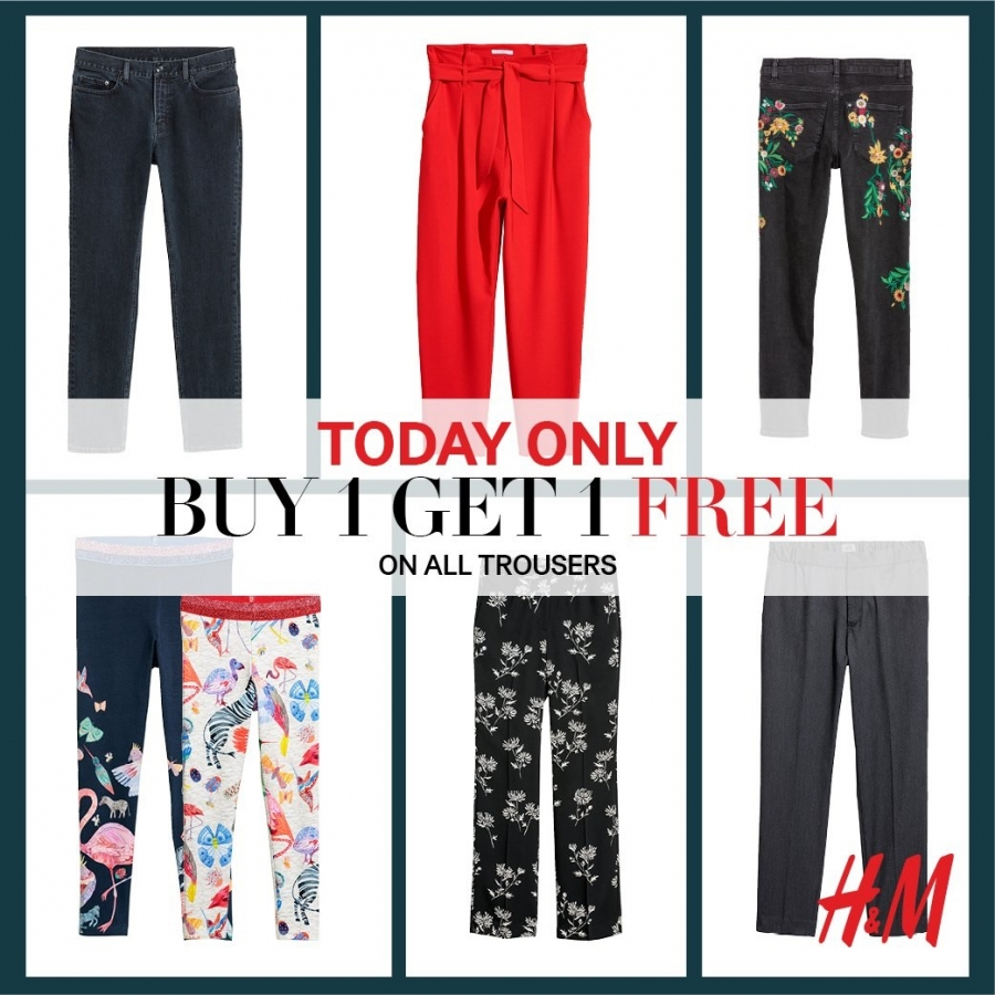 H & M Buy 1 Get 1 Free Offers