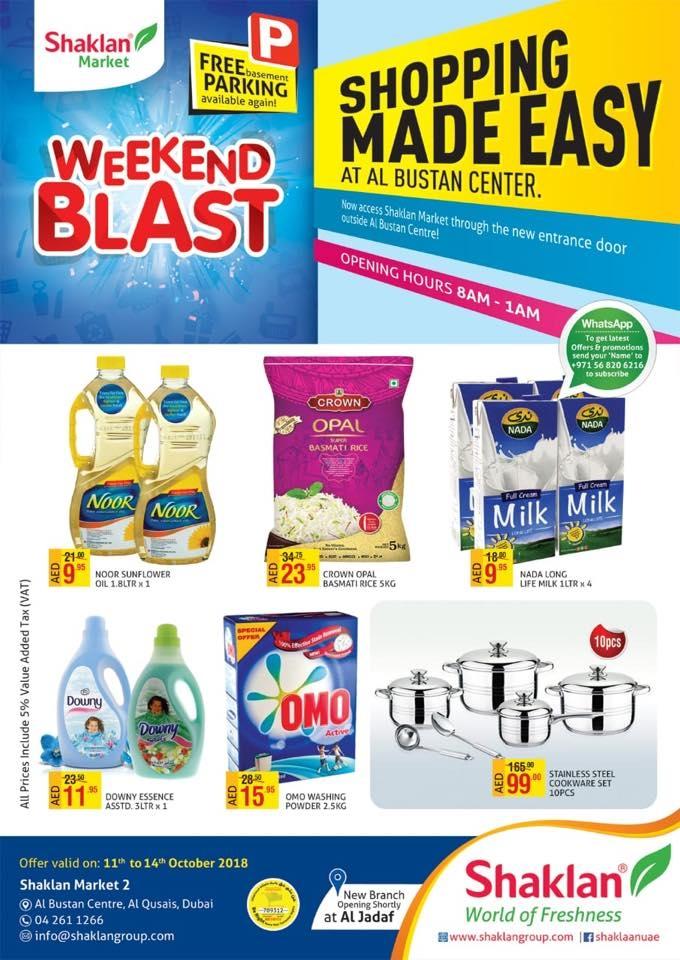 Shaklan Market Weekend Blast Offers