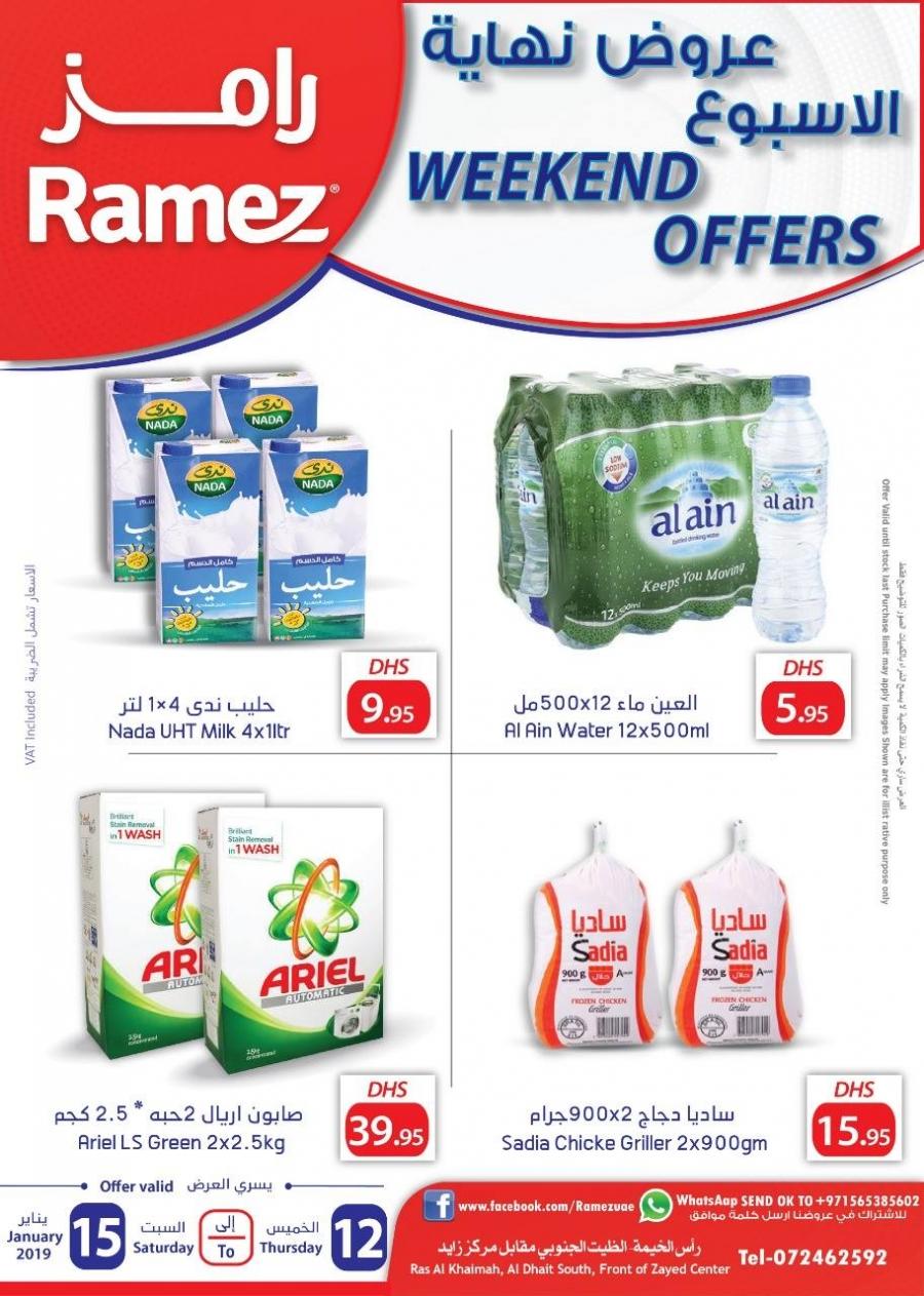 Ramez Weekend offers @ Ras Al Khaimah