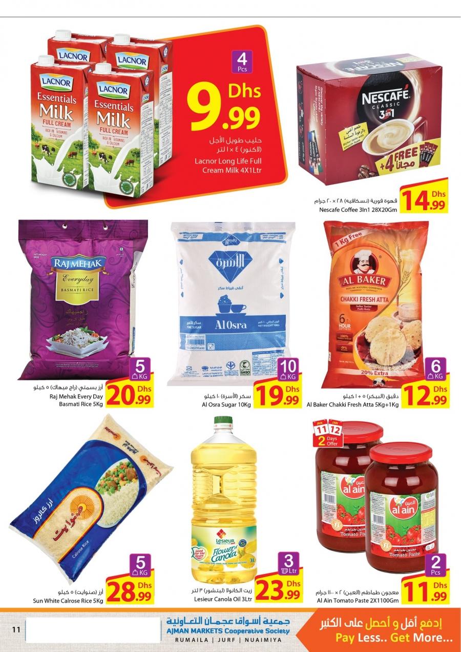 Ajman Markets Co-op Society Weekend Deals