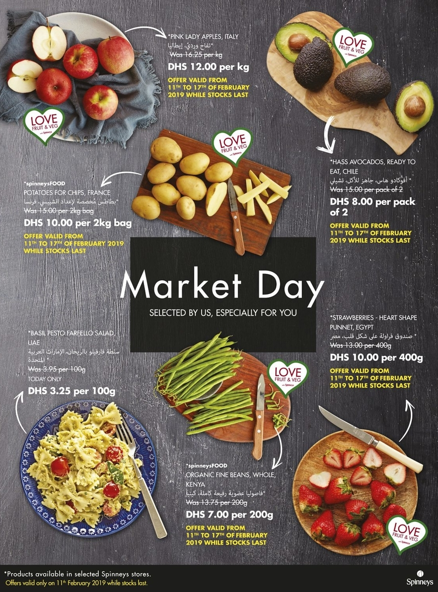 Spinneys Market Day Offers