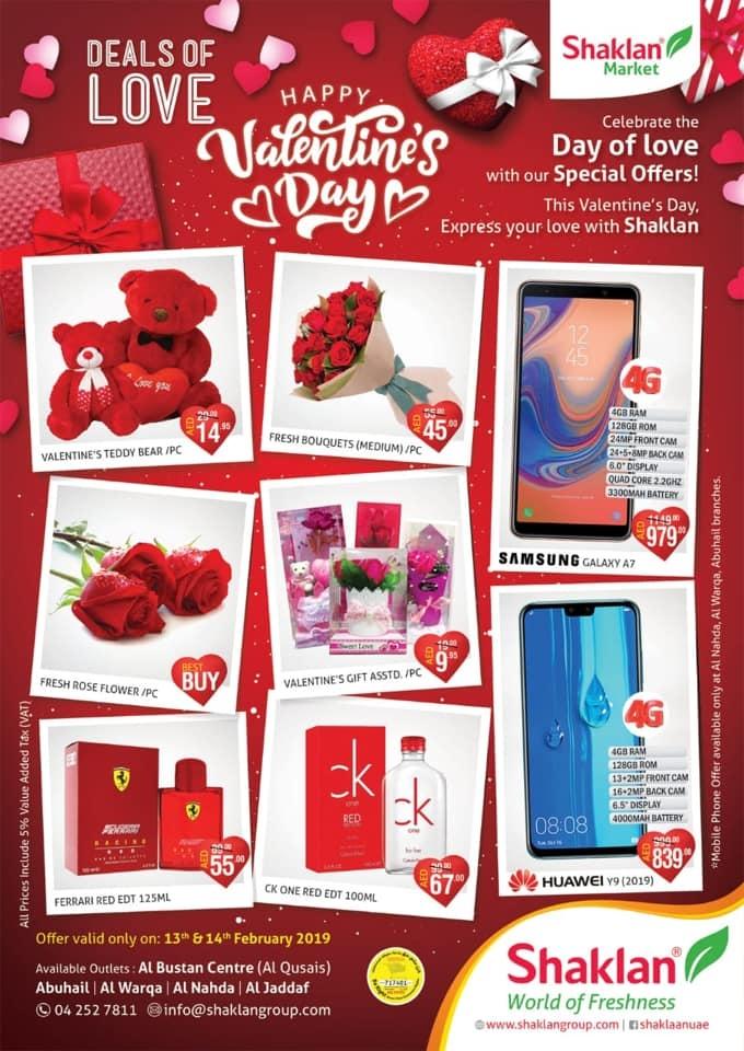 Shaklan Market Valentine's Day Deals in Dubai