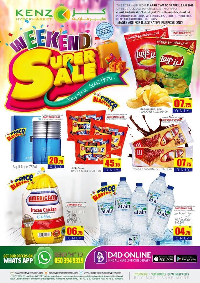Kenz Hypermarket Weekend super Sale