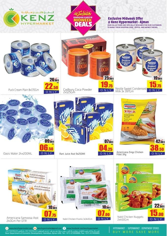 Kenz Hypermarket  Midweek Offers