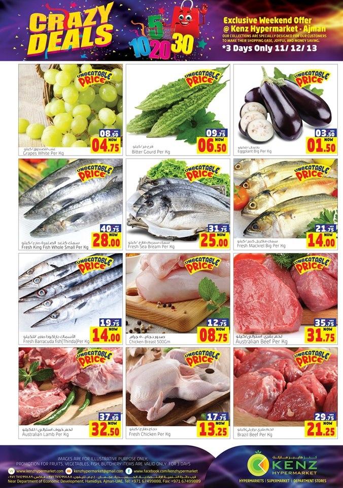 Kenz Hypermarket Weekend Crazy Deals