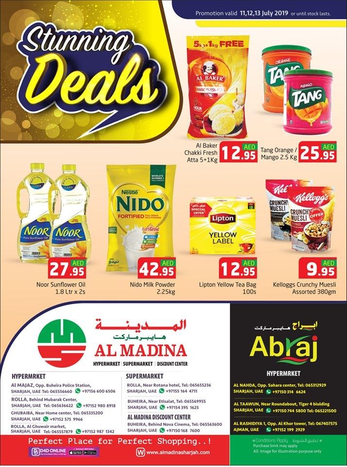 Al Madina Hypermarket Stunning Deals