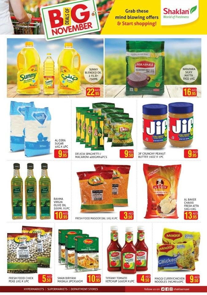 Shaklan Market Big Deals Of November