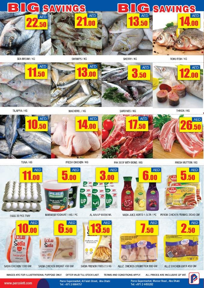 Parco Supermarket Big Savings Offers