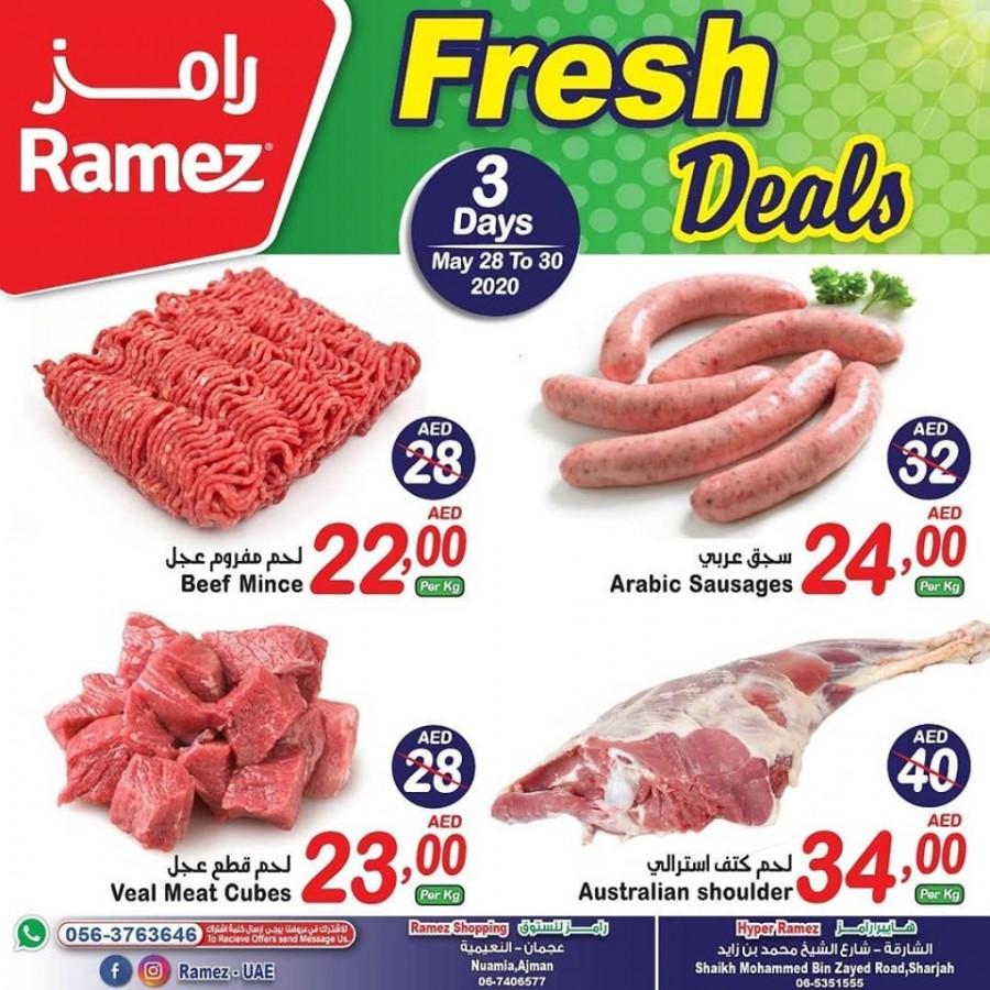 Ramez Ajman & Sharjah Fresh Deals
