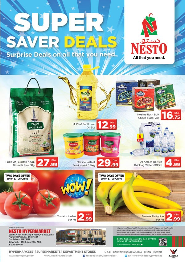 Nesto Jafza Super Saver Deals