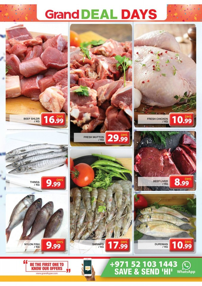 Grand Hypermarket Midweek Offers