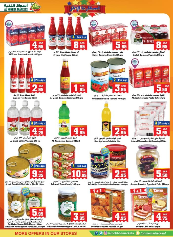 Al Nokhba Markets Best Offers