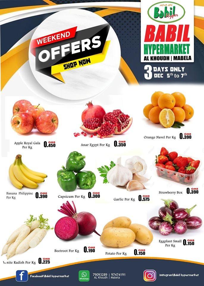 Babil Hypermarket 3 Days Only Deals
