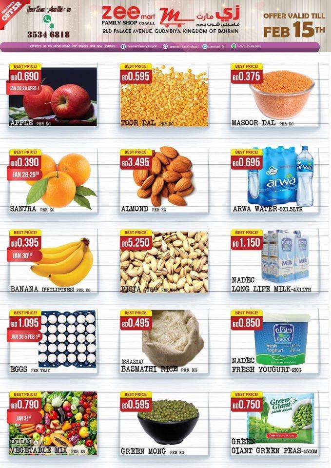 Zeemart Family Shop Special Weekly Offers
