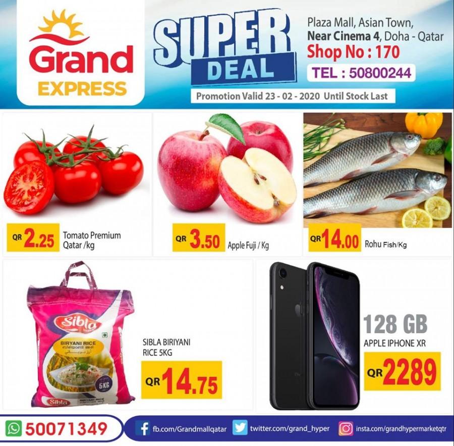 Grand Express Super Deals 23 February 2020