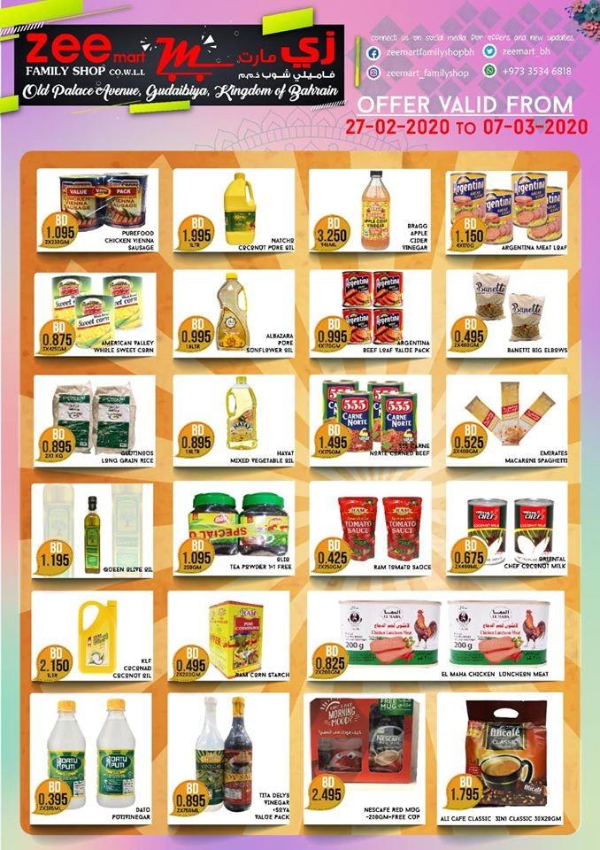 Zeemart Family Shop Month End Deals