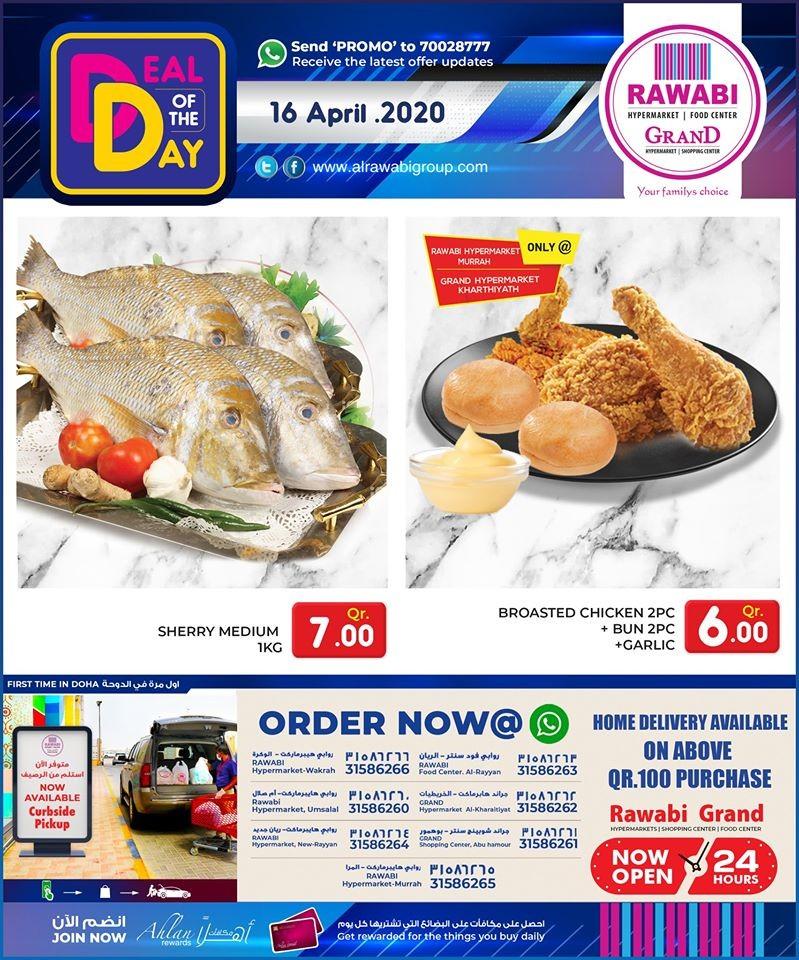 Rawabi Hypermarket Deal Of The Day 16 April 2020