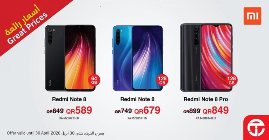 Xiaomi Smartphones Great Prices
