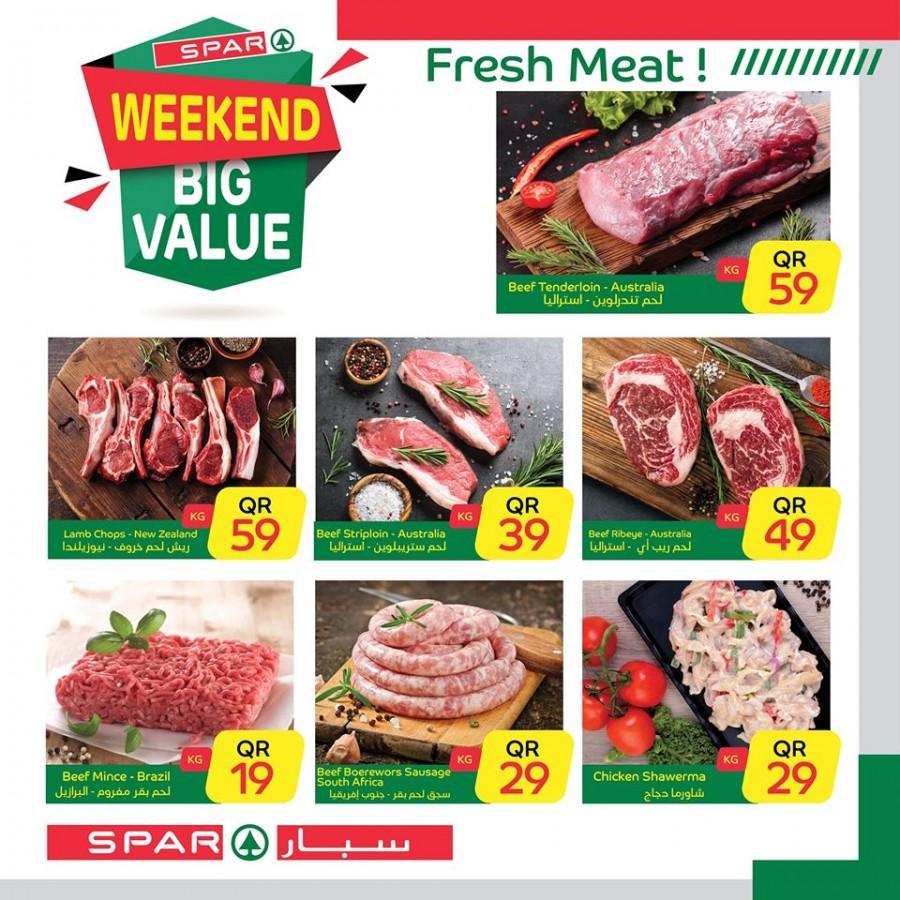 Spar Weekend Big Value Offers
