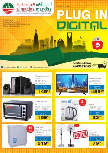 Al Madina Markets Plug In Digital Offers at Al Madina Markets