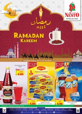 Nesto Nesto Supermarket Ramadan Kareem Offers