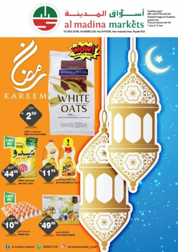 Al Madina Markets Ramadan Kareem Deals at Al Madina Markets