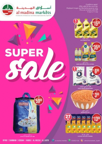 Al Madina Markets Al Madina Markets Super Sale Offers
