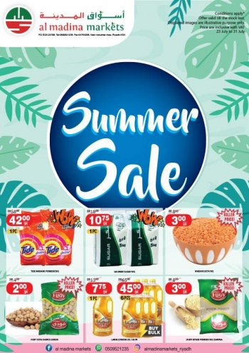 Al Madina Markets Al Madina Markets Great Summer Sale Offers