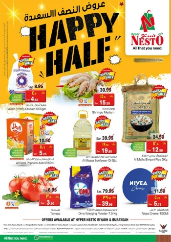 Nesto Nesto Happy Half Deals