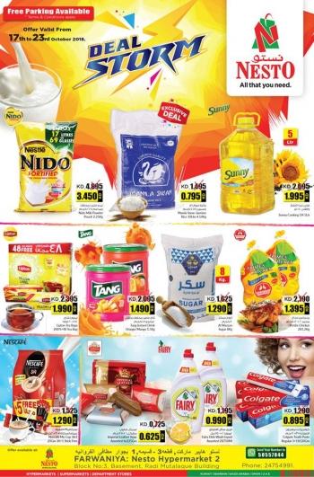 Nesto   Nesto Hypermarket Deal Storm Offers