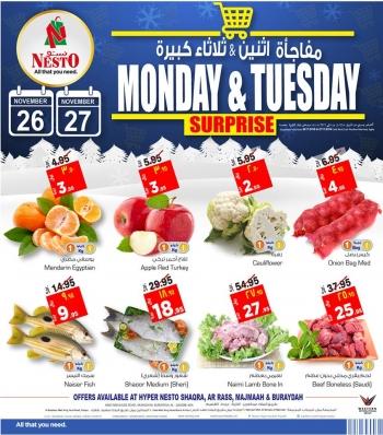 Nesto Monday & Tuesday Surprise