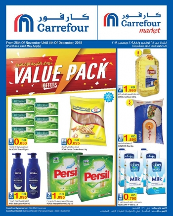 Carrefour Carrefour Value Pack Offers