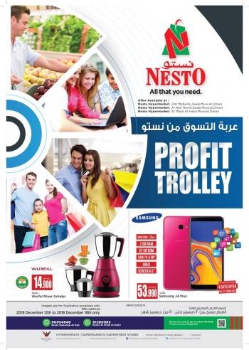 Nesto Nesto Hypermarket Profit Trolley Offers