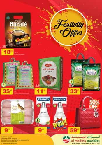 Al Madina Markets Al Madina Markets Festinity Offer