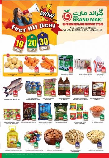 Grand Mart Wow Deals