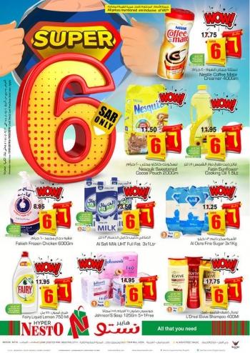 Nesto Nesto Hypermarket Super 6 Offers