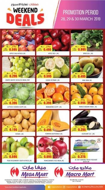 Mega Mart Mega Mart & Macro Mart Weekend Deals