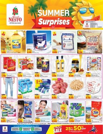 Nesto Nesto Hypermarket Summer Surprises Offers