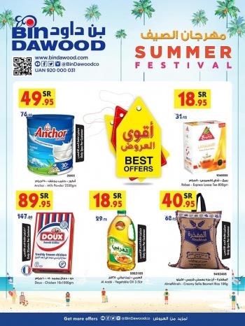 Bin Dawood Summer Festival Offers Bin Dawood Jeddah