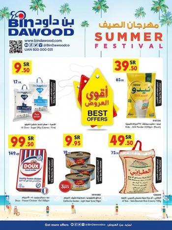 Bin Dawood Bin Dawood Jeddah Summer Festival Offers