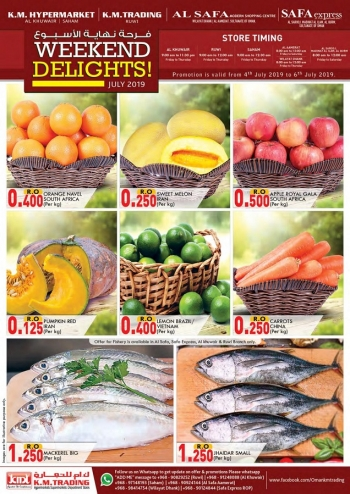 Great Weekend Delight Offers
