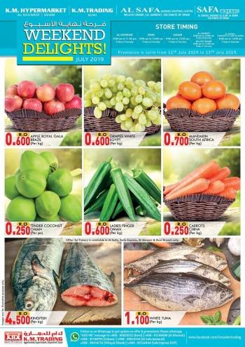 KM Trading & KM Hypermarket Weekend Delight Offers