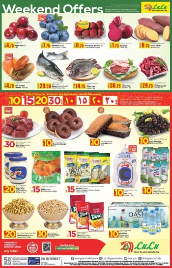 Lulu Lulu Hypermarket Great Weekend Offers
