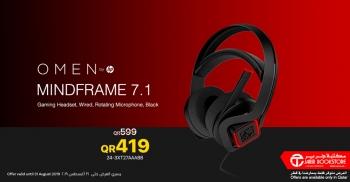 Jarir Bookstore Jarir HP OMEN Mindframe 7.1, Gaming Headset