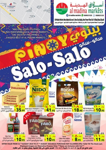 Al Madina Markets Al Madina Markets Pinoy Salo Salo Offers