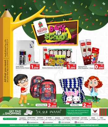 Nesto Nesto Back To School Offers