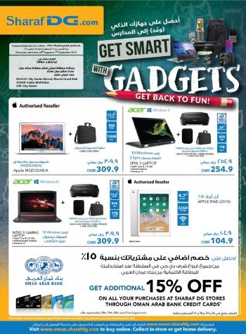 Sharaf DG Sharaf DG Get Smart With Gadgets Promotion